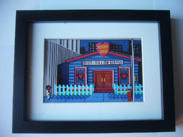 Leisure Suit Larry  3D Diorama Shadow Box